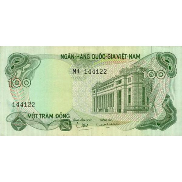 1970 - Viet Nam  del Sur pic 26  billete de 100 Dong