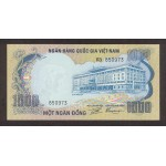 1972 -   Viet Nam South  Pic  34      1000 Dong banknote