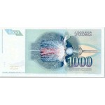1991 - Yugoslavia Pic 110        1.000 Dinara banknote