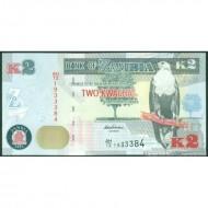 2013- Zambia   Pic  49b   2 Kwacha  banknote