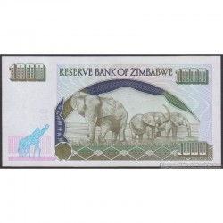 2003  - Zimbabwe   Pic 12b    1000  Dollars  banknote