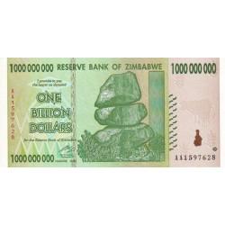 2008  - Zimbabwe   Pic 83    1000 million   Dollars  banknote