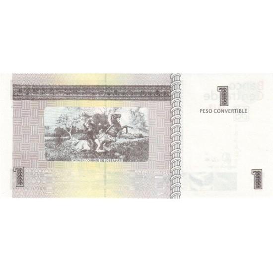 1985 - Cuba P-FX46 1 Peso banknote