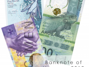 Banknote of the year Nominations 2019