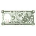 1997 -  Eritrea   PIC 1   billete de   1 Nakfa