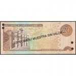 2004 - Dominican Republic P169s4 20 Pesos Oro banknote