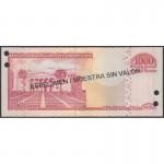 2004 - Dominican Republic P173s3  1000 Pesos Oro  Specimen banknote